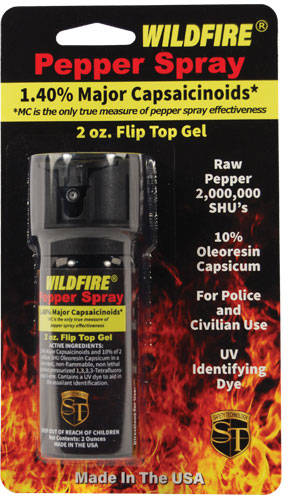 2 Ounce Wildfire Pepper Gel Defensive Spray