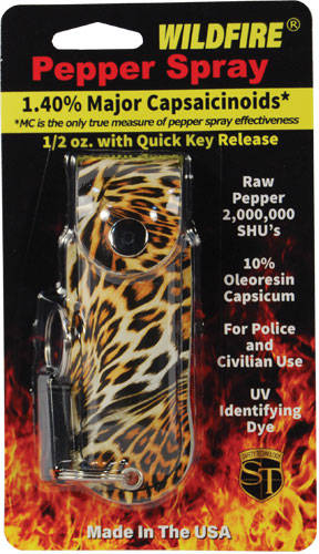 Leopard Pepper Spray