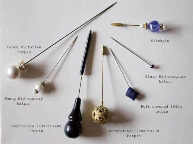 Vintage Hat Pins