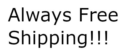 Always Free Shipping