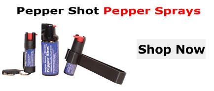 Pepper Shot Pepper Sprays